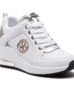 Sneakers GUESS - Jaryd FL5JAR LAC12 WHITE