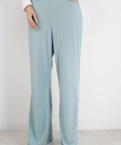 Pantaloni zara light green largei