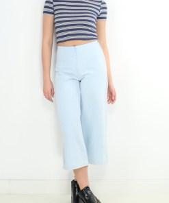 Pantaloni zara jamille denim jeansi