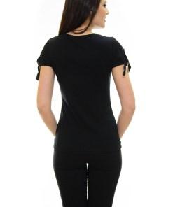 Tricou Belle Sleeve Black