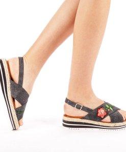 Sandale dama Badde negre