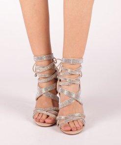 Sandale dama Lupita bej