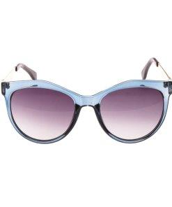 Ochelari de soare dama FF0049 albastri toc protectie