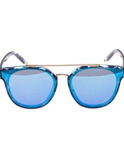 Ochelari de soare dama P5069C5 albastri toc protectie