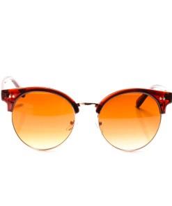 Ochelari de soare dama P5076C2 maro toc protectie