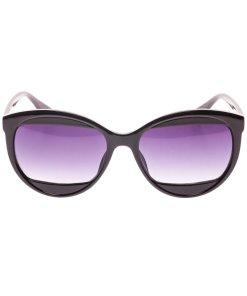 Ochelari de soare dama P5092C1 negri + toc protectie
