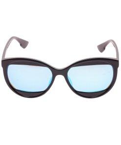 Ochelari de soare dama P5092C4 negri + toc protectie