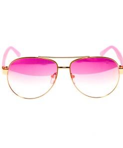 Ochelari de soare dama P5136C2 roz toc protectie