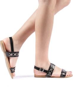 Sandale dama Glao negre