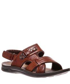 Sandale barbati Carol maro