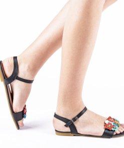 Sandale dama Colipal negre