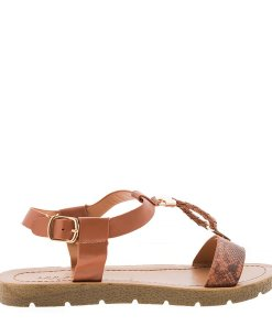 Sandale dama Boucher tan