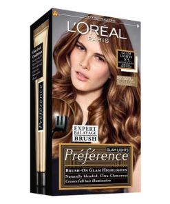 Vopsea de par permanenta cu amoniac L'Oreal Paris Preference 5 Dark to Light Brown, 174 ml