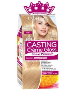 Vopsea de par semi-permanenta fara amoniac L'Oreal Paris Casting Creme Gloss Glossy Princess 9.31 Blond Auriu, 180 ml