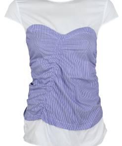 Tricou ZARA Lara Blue