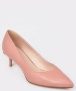 Pantofi EPICA nude, L824S63, din piele naturala