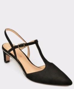 Pantofi CLARKS negri, Ellilol, din nabuc