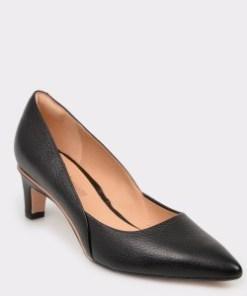 Pantofi CLARKS negri, Elliros, din piele naturala