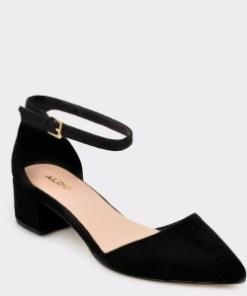 Pantofi ALDO negri, Zulian, din piele ecologica