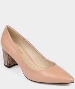 Pantofi EPICA bej, 7456377, din piele naturala