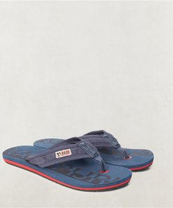 Papuci Toledo Bleumarin