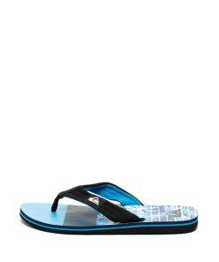 Papuci flip-flop cu imprimeu logo Molokai