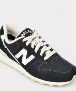 Pantofi sport NEW BALANCE negri, Wr996, din material textil