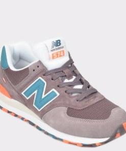 Pantofi sport NEW BALANCE mov, Ml574, din material textil