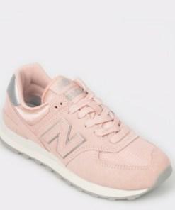 Pantofi sport NEW BALANCE roz, Wl574, din material textil