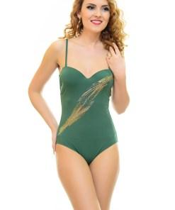 Costum De Baie Full Test Green