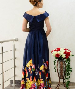 Rochie Ella Collection Festive Edition DarkBlue