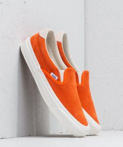 Vans OG Slip-On 59 LX (Suede) Red Orange/ Marshm
