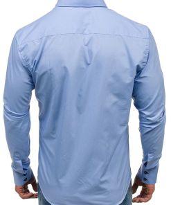Camasa eleganta barbati albastru Bolf 1721-1