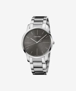 Calvin Klein City Ceas pentru Bărbați - 59541 - culoarea Gri Argintiu