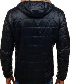 Geaca pentru barbat de plimbare sport neagra Bolf 138