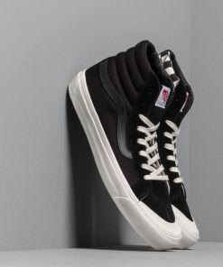 Vans OG Style 138 LX (Suede/ Canvas) Black/ Checkerboard