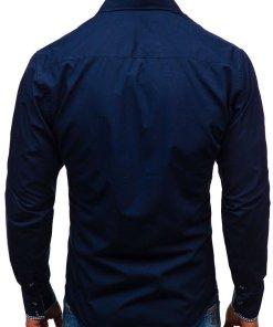 Camasa eleganta cu maneca lunga pentru barbat bluemarin Bolf 0939