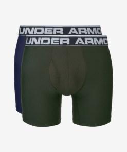 """Under Armour Original Series 6"""" Boxeri, 2 bucăți pentru Bărbați - 65046 - culoarea Albastru Verde"""