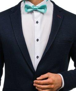 Papion elegant pentru barbat verde-menta Bolf M001