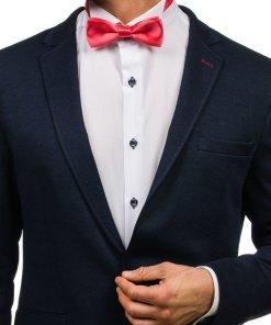 Papion elegant pentru barbat rosu-deschis Bolf M001
