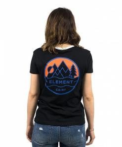 Tricou Camp Ringer black