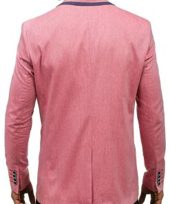 Sacou casual pentru barbat rosu Bolf 0134