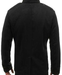 Palton pentru barbat negru Bolf 8857