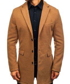 Palton de iarna pentru barbat camel Bolf 1047