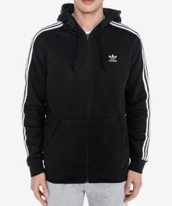 adidas Originals 3-stripes Hanorace pentru Bărbați - 81228 - culoarea Negru