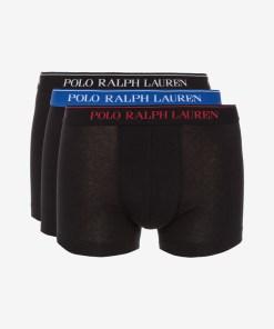 Polo Ralph Lauren Boxeri, 3 bucăți pentru Bărbați - 82023 - culoarea Negru