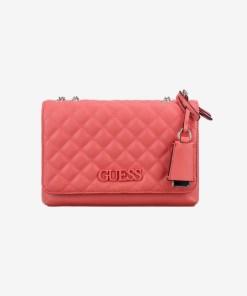 Guess - Elliana Cross body pentru Femei - 83661 - culoarea Roșu