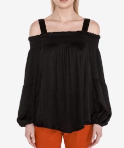 Guess - Top pentru Femei - 83711 - culoarea Negru