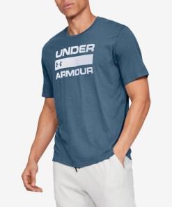Under Armour Team Issue Wordmark Tricou pentru Bărbați - 74745 - culoarea Albastru
