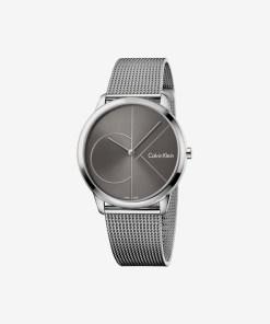Calvin Klein Minimal Ceas pentru Bărbați - 89561 - culoarea Argintiu
